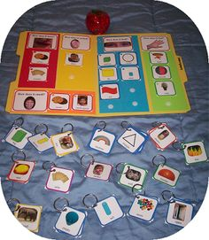 free downloadable file folder game to teach adjectives: Adjective Games: Tell Me About It - Speech and Language Kids