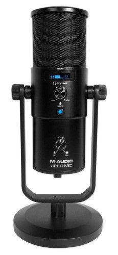 M-Audio Uber MIC Recording Podcasting Gaming Streaming Studio USB Microphone M Audio, Usb Microphone, Uber, Gaming, Videogames, Game