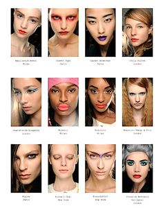 4 Spring/Summer 2014 Makeup Trends: MAC PUR-ITAN, SCI-CHEDELIC, NU-UANCE And SIG-NATURE — Clean Skin, Bold Brows, Eyes, Nude Lips
