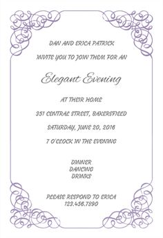 Join Us For A Dinner Party   Printable Dinner Party Invitation Template  Free Dinner Invitation Templates Printable