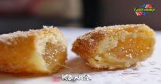 La masa de estas EMPANADILLAS DE CABELLO DE ANGEL, es la misma que se usa para hacer los Roscos Fritos de Anís, te apunta a ver como se hace, pulsa en la foto para verlo. y guárdala. http://kanelamonje.blogspot.com.es/2016/11/empanadillas-de-cabello-de-angel.html