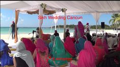 Sikh Wedding Cancun Destination Cancun Wedding, Destination Wedding, Sikh Wedding, Priest, Caribbean, Weddings, Fun, Fin Fun, Bodas