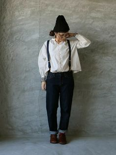 Cuffed Jeans, Japan Fashion, Looking For Women, Personal Style, Normcore, Blouse, Lady, Hair Styles, Womens Fashion