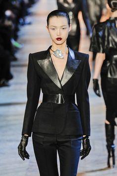 Yves Saint Laurent, fashion week 2012