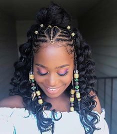43 Badass Tribal Braids Hairstyles to Try | Page 3 of 4 | StayGlam #feedinBraided Twa Hairstyles, Braided Ponytail Hairstyles, Baddie Hairstyles, African Hairstyles, Instagram Baddie, Natural Hair Tips, Natural Hair Styles, Baddie Outfits For School, Front Braids