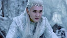 Ice Fantasy - 幻城 So this show is turning out to be as good as I had hoped! Reminds me of the characters in my novel,lol. In love!