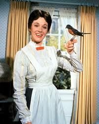 """Mary Poppins - I love anything with Julie Andrews. She was passed over for My Fair Lady because they wanted a """"movie star"""", so she took the role of Mary Poppins for which she won an Oscar beating out Audrey Hepburn Julie Andrews, My Fair Lady, Old Movies, Great Movies, Awesome Movies, Film Mythique, Mary Poppins 1964, Mary Poppins Costume, The Blues Brothers"""