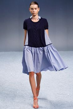Sacai Spring 2012 Ready-to-Wear Collection Photos - Vogue