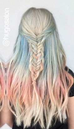 @hugosalonlove this dyed hair inspiration
