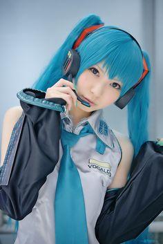Vocaloid | Hatsune Miku Default Cosplay