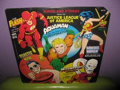 Songs And Stories About The Justice League of America
