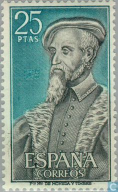 1967 - Famous People 25 - stamp - Spain [ESP]