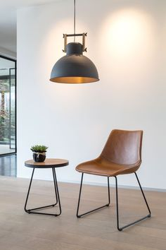 The PATRICIA dining chair is available in 3 coulours: brown, ginger and black. And also in counter- and barchair. Dining Area, Kitchen Dining, Dining Room, Eames Chairs, Dining Chairs, Furniture Inspiration, Small Apartments, Living Room Decor, Armchair
