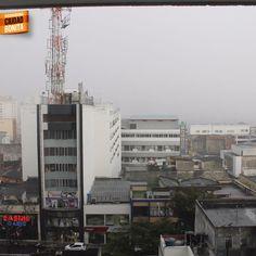 El centro de Bucaramanga, en un día lluvioso. Gracias @CaracolBga por la foto #climaBUC