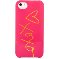 BaubleBar Xoxo iPhone 5 Case ($28) ❤ liked on Polyvore featuring accessories, tech accessories and phone cases