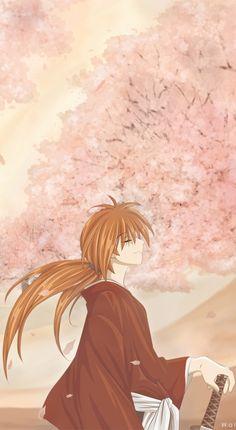 Himura Kenshin,Hitokiri Battosai - Rurouni Kenshin,Anime