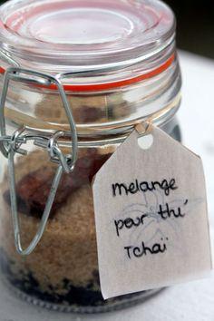 cadeau gourmand fait maison thé tchaï blog chez requia