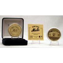 Shea Stadium Gold Coin BASEBALL METS