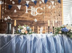 свадебное оформление в москве | Морская Свадьба Никиты и Светы