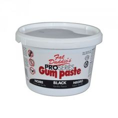 Shop online for Fat Daddios Gum Paste - Black - 1 lb at Golda's Kitchen; the leading Canadian on-line shopping site for quality bakeware, cookware, and cake decorating supplies. Line Shopping, Shopping Sites, Cake Decorating Supplies, Vanilla Flavoring, Gum Paste, Coffee Cans, Home And Garden, Canning, Frosting