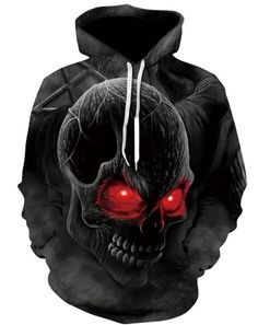 Dripping Skull Mens Hoodie Biker Tattoo Gothic Melting Motorcycle Motorbike Top