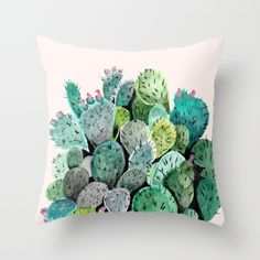 Throw Pillow made from 100% spun polyester poplin fabric, a stylish statement that will liven up any room. Individually cut and sewn by hand, each…
