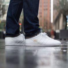 Adidas Gazelle Og Cuir Blanc