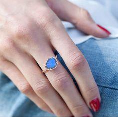 Lost in Lab ✨ Luna Skye Single Band Labradorite Ring #lunaskyejewelry  Www.lskyejewelry.com