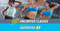 Unlimited classes, unlimited results! Come try classes for Free during the month of October. Jazzercise.com
