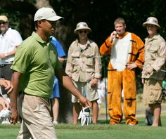 Tiger Woods Fans, 2007 PGA, Tiger Woods Fans Dressed as Tigers Photos   GOLF.com
