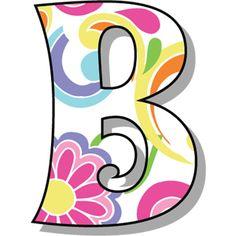 Buchstabe - Letter B