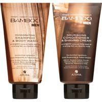 Alterna Alterna Bamboo Men's Shampoo & Conditioner Launch Duo by Alterna. $35.40. Duo of double-duty grooming wonders. A $36 Value. This product meets our natural beauty standards with a high concentration of quality natural botanicals while keeping harsh chemicals to a minimum.                    A $36 Value    Every product in the Alterna BAMBOO Men line is a double-duty wonder. Made with eco-certified, fair-trade compliant and certified organic pure Bamboo Extract and He...