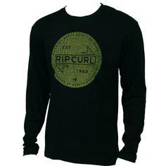 Rip Curl Mens Shirt Union LS Black