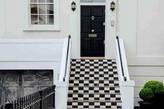 triky od designérů Front Door Paint Colors, Painted Front Doors, Main Door Design, Front Door Design, Interior Design Tips, Interior Decorating, Design Ideas, Philips Hue, Composite Door