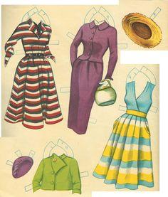 Barbara Britton Paper Dolls, 1954 Whitman #4318 (8 of 12)   edprint2000paperdolls   Picasa Webalbum