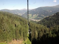 On the way up to Kaiserburg