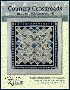 Country Crossroads Complete Pattern - so beautiful!!!