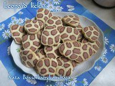 Leopárd keksz (Gluténmentesen is! Food And Drink, Gluten Free, Sweets, Snacks, Breakfast, Glutenfree, Morning Coffee, Appetizers, Gummi Candy