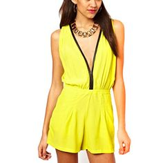 May&Maya Women's Plunging Neckline Playsuit Jumpsuits With PU Trim (M) May&Maya http://www.amazon.com/dp/B00MFHYING/ref=cm_sw_r_pi_dp_sS6Pvb1NNH9GS