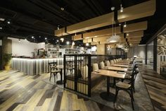 Bistro Bon School Canteen by Artta Concept Studio, Hong Kong – China » Retail Design Blog