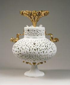 Antique Furniture Sensible Set Of Three Antique Marquesas Porcelain