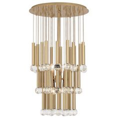 JONATHAN ADLER - Eccentric Glamour - Milano Twinkle Chandelier (=)