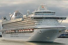 Grand-class cruise ship for Princess Cruises that entered service in April 2007. Her sister ships include Caribbean Princess and Crown Princess. She features two nightclubs, a piazza style atrium, multiple pools and hot tubs, a spa, and a gym.