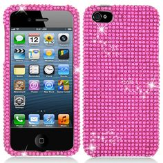 barbie pink bling | iPhone 5 just what I need another case for my phone lol
