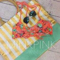 Be lovely. Be beach ready. #SpringBreak #MinkPink #ShopGeezLouise