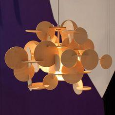 Lámpara Bau S Pendant Natural - Lámparas de Suspensión - Iluminación -DomésticoShop