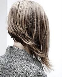 short in back long in front hair - Google Search