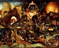 Hieronymus Bosch- Dante's Inferno