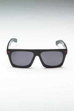 Blnq Eyewear Future Prophecies Shiny Black/Red Rivets