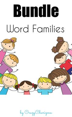 Check out the bundle of my WORD FAMILIES packets. This resource is ideal for…
